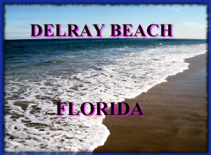 Beach view of Delray Beach