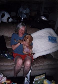 Baby Luna, our golden retriever puppy